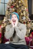 Gelukkig nieuw jaar, vooravond, partij royalty-vrije stock afbeelding