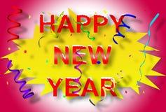 Gelukkig Nieuwjaar 2 Royalty-vrije Stock Foto's