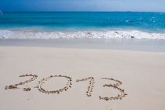 Gelukkig Nieuwjaar 2013 Stock Fotografie