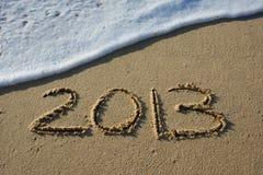 Gelukkig Nieuwjaar 2013 Stock Foto