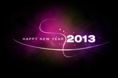 Gelukkig Nieuwjaar 2013 Royalty-vrije Stock Afbeelding