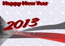 Gelukkig Nieuwjaar 2013 Stock Foto's