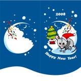 Gelukkig Nieuwjaar Stock Afbeeldingen