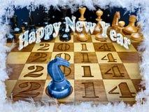 Gelukkig Nieuwjaar 2014 Stock Afbeelding