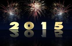 Gelukkig Nieuwjaar 2015 Royalty-vrije Stock Afbeeldingen