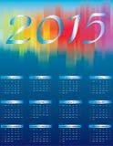 Gelukkig Nieuwjaar - 2015 Stock Afbeelding