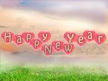 2015 Gelukkig Nieuwjaar Stock Foto