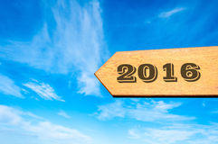 Gelukkig Nieuwjaar 2016 Royalty-vrije Stock Afbeeldingen