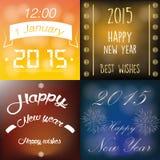 Gelukkig Nieuwjaar Royalty-vrije Stock Afbeeldingen