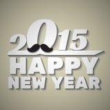 2015 Gelukkig Nieuwjaar Stock Afbeeldingen