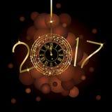 Gelukkig Nieuwjaar - 2017 Royalty-vrije Stock Afbeelding