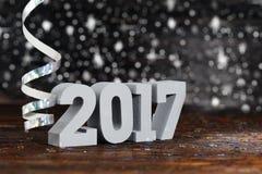 Gelukkig Nieuwjaar 2017 Stock Foto