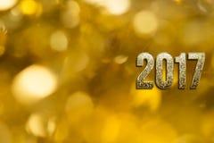 Gelukkig Nieuwjaar 2017 Royalty-vrije Stock Foto's