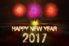 Gelukkig Nieuwjaar 2017 Royalty-vrije Stock Foto