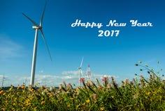 Gelukkig Nieuwjaar 2017 Royalty-vrije Stock Afbeeldingen