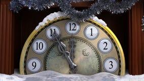 Gelukkig Nieuwjaar en de Vrolijke achtergrond van Kerstmis Royalty-vrije Stock Foto