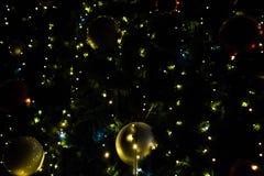 Gelukkig Nieuwjaar en de Vrolijke achtergrond van Kerstmis Royalty-vrije Stock Foto's