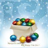 Gelukkig Nieuwjaar en Vrolijke Kerstmis! Royalty-vrije Stock Foto