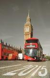 2015 - Gelukkig Nieuwjaar Londen! Stock Foto