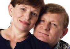 Gelukkig paar. stock afbeelding