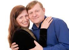 Gelukkig paar. stock foto
