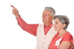 Gelukkig paar op middelbare leeftijd Royalty-vrije Stock Foto's