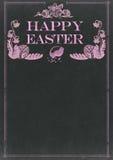 Gelukkig Pasen-bord royalty-vrije illustratie