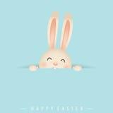 Gelukkig Pasen ontwerp als achtergrond Gelukkige Pasen-kaarten met Pasen vector illustratie