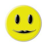 Gelukkig smileygezicht Royalty-vrije Stock Afbeeldingen