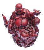 Gelukkig Standbeeld Buddah Stock Afbeeldingen