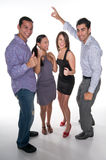 Gelukkig Team Royalty-vrije Stock Foto's