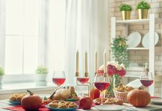 Gelukkig Thanksgiving day Royalty-vrije Stock Foto's
