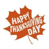 Gelukkig Thanksgiving day Stock Afbeeldingen
