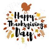 Gelukkig Thanksgiving day Stock Fotografie