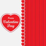 Gelukkig Valentine Day Stock Afbeeldingen