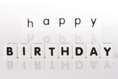 Gelukkig Verjaardagsconcept Stock Afbeelding