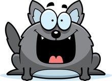Gelukkig Weinig Wolf vector illustratie