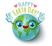 Gelukkige Aardedag! Stock Afbeelding