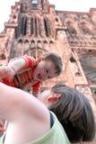 Gelukkige baby Stock Foto's