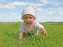Gelukkige baby Stock Foto