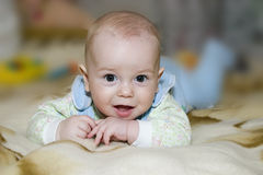 Gelukkige baby royalty-vrije stock foto's