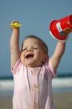 Gelukkige baby Stock Afbeelding
