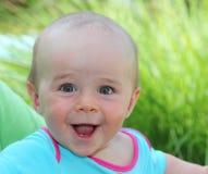 Gelukkige babyjongen royalty-vrije stock afbeelding