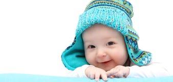 Gelukkige babyjongen Royalty-vrije Stock Afbeeldingen