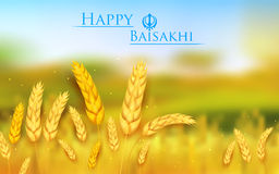 Gelukkige Baisakhi Royalty-vrije Stock Foto's