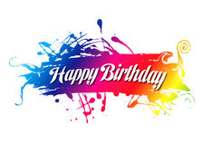 Gelukkige birthday40 vector illustratie