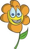 Gelukkige bloem Stock Afbeeldingen