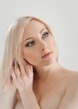 Gelukkige blond Stock Foto