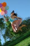 Gelukkige, bouncyverjaardag Stock Afbeeldingen