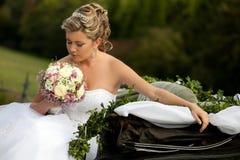 Gelukkige bruid Royalty-vrije Stock Foto